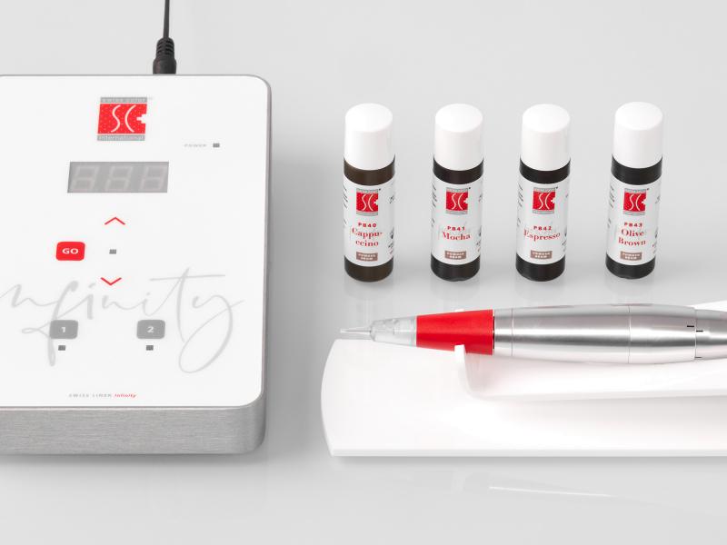 Die besten Powder Brows Geräte, Farben, Kurse von Swiss Color®
