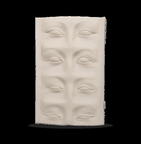 3D practice mat brow/lid